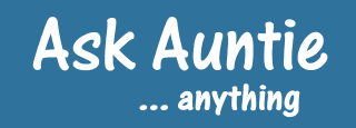 Ask auntie anything 320 x 115